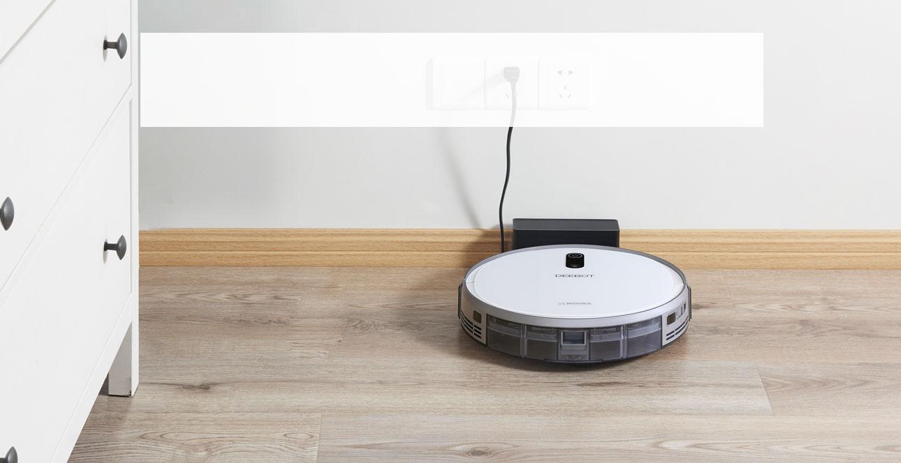 Thời lượng pin khủng giúp robot hoạt động được lâu và sạch sẽ